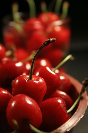 cherries fruit photo
