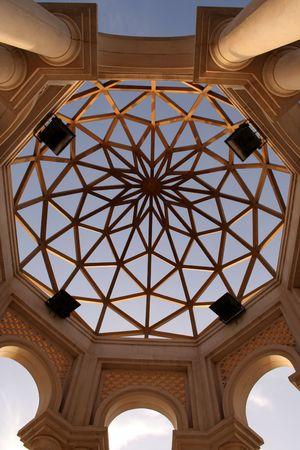kuwait: modern Architecture  dome in kuwait city