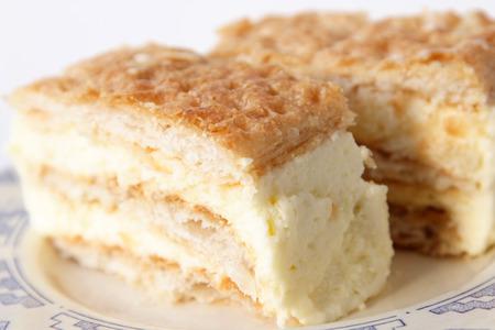 custard slice: Millefeuille Custard Slice