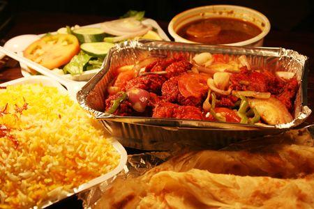 indian biryani food with chicken masala Stock Photo - 3773889