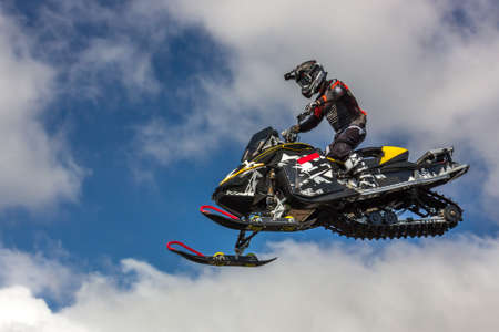 Motor freestyle. Incredible jumps with acrobatic elements that were performed by professionals during motocross. Speed and style, the flight of a motorcycle in the air. Different