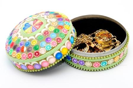 Detail-Bild der Dekoration Jewel Boxen mit Konzeptauto.