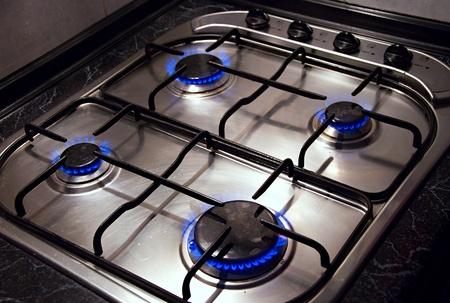 estufa: Imagen de detalle de cocina estufa.
