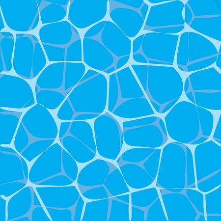 水のイラストを太陽から軽くします。  イラスト・ベクター素材