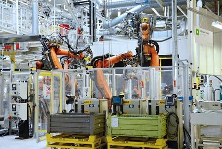 シュコダ自動車社工場 MLADA 概況チェコ共和国 5 月 30 日: ドアのオープンの日。シュコダ自動車は 2015 年 5 月 30 日ムラダーボレスラフで上ラウリン Kl