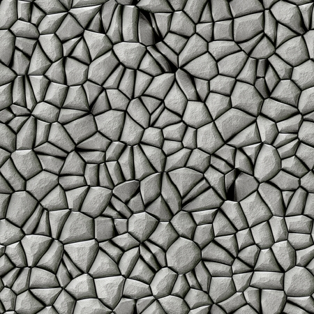 road paving: Abstract surface made from grey cobble stones.