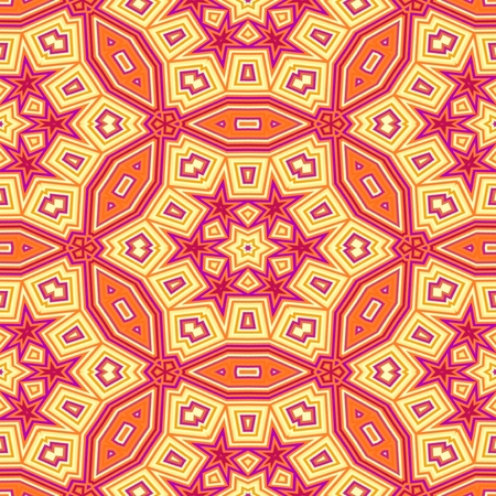 background kaleidoscope: Abstract red orange seamless background. Kaleidoscope background.