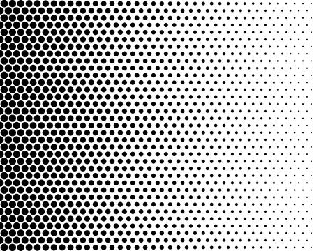 黒と白の色で基本的なハーフトーン ドット効果。ハーフトーン。ドット ハーフトーン。ブラック ホワイト ハーフトーン。 写真素材