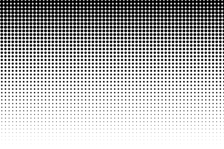 Basic halftone dots effect in black and white color. Halftone effect. Dot halftone. Black white halftone. Stok Fotoğraf