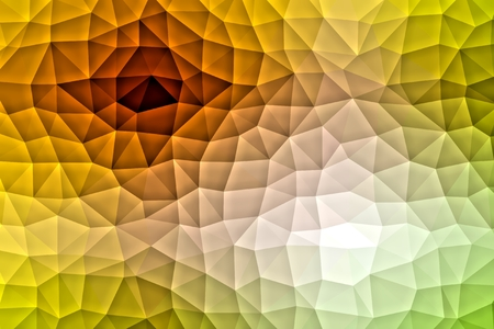 vivid colors: Geometric tile mosaic with color triangles. Abstract polygonal pattern in vivid colors. Stock Photo