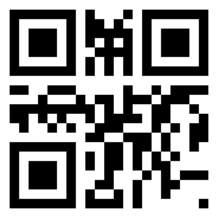 QR Code vector with buy and sell words.