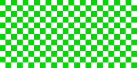Nahtloses Muster der grünen und weißen Schachbrettquadrate.
