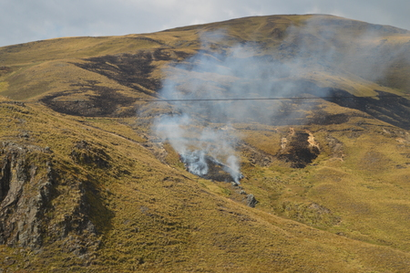 degrade: Fire pollute and degrade the FFI in the field