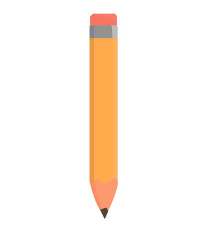 pencil. school supplies. writing and drawing. art supplies. vector object. office, business style