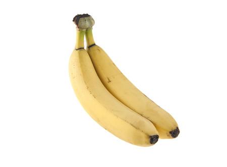 bannana: Banana isolated on white background Stock Photo