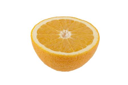 orange isolated on white background Archivio Fotografico