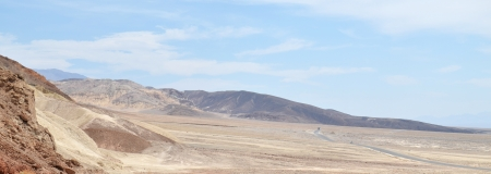 View in Death Valley