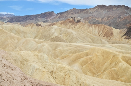 USA - Zabriskie Point in Death Valley photo