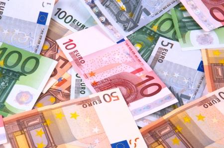 Euros Standard-Bild