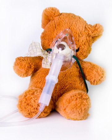 Oxygen mask and bear