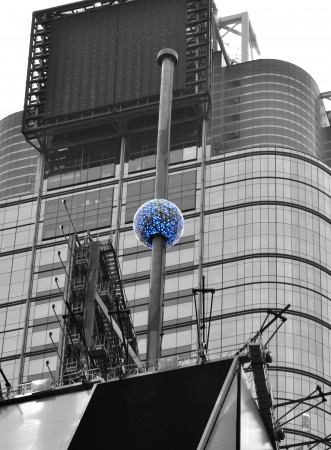 New Year s sphere in New York photo