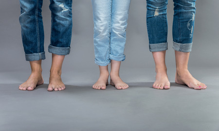 Womens jeans. Stock Photo