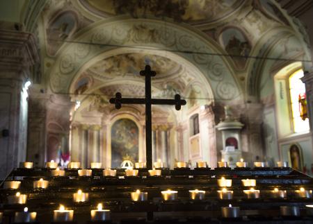 church interior: Church interior with nature light.