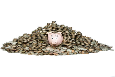 erudition: Once you get in the habit of saving, you will exceed your expectations  Stock Photo