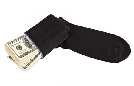 avidity: Dollar stock in a sock