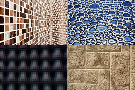 Collection of construction materials textures backgrounds Stock Photo - 8547668