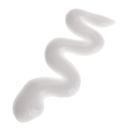 dermal: Face moisturizer (cream) sample, isolated on white