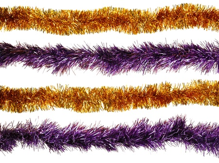 christmas ornamentation: Christmas artificial tinsel decoration