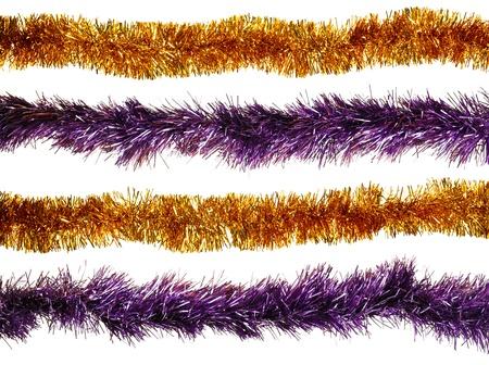 Christmas artificial tinsel decoration