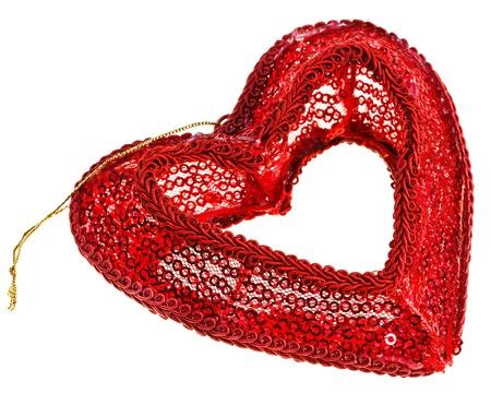 sequin: Valentine Stock Photo