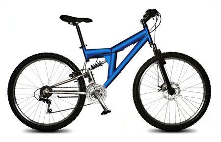 isolated bicycle photo