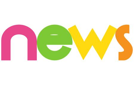 ニューズ レター ベクトル単語バナー記号
