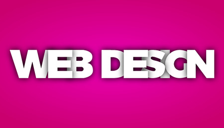 web design colorful vector letter banner
