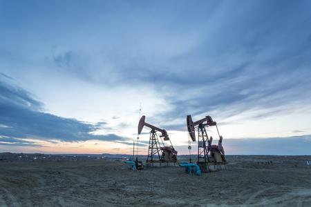 Oil pumping machine Editorial