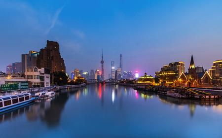 publicidad exterior: la noche de Shangai