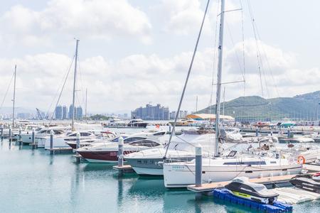 Sanya Hainan yacht wharf