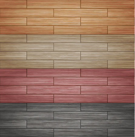 tile flooring: Vector illustration of seamless wood Plank texture background