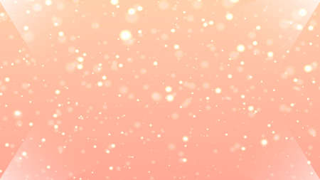 champagne color illumination and decoration holiday background