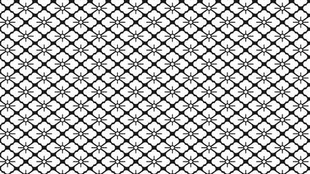 simple monochrome floral pattern background