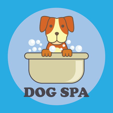 Pets shop, pets care, pets lover service with text space for your slogan / tagline, vector illustration
