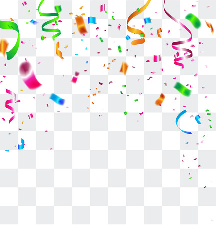 christmas gifts: Celebration carnival. Bright colorful vector confetti background. Illustration