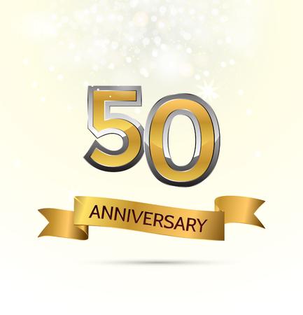 Jubiläumsfeier mit abstraktem Hintergrund mit vielen fallenden Goldkleinen Konfettistücken. Standard-Bild - 84402682