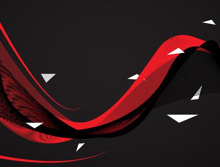抽象的な赤い背景のストライプ。最小限のバナーです。