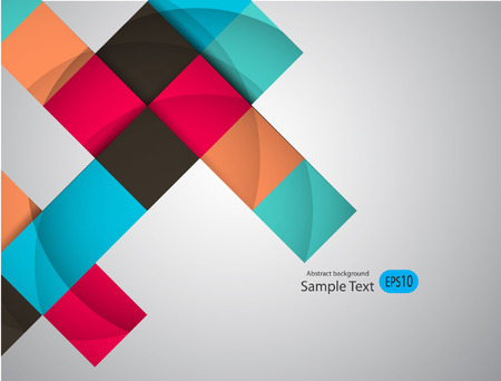 Abstract geometric background with place for your text.