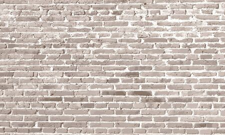 Design elements White antique brick wall Ilustração