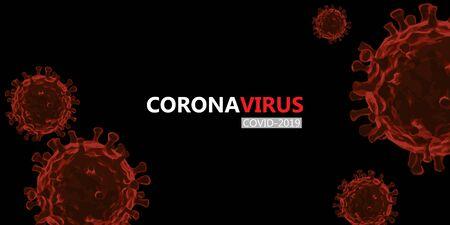 Coronavirus or Corona virus concept. covid-19